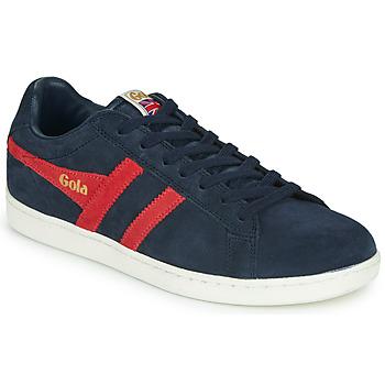 Pantofi Bărbați Pantofi sport Casual Gola EQUIPE SUEDE Bleumarin / Roșu