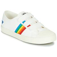 Pantofi Femei Pantofi sport Casual Gola COASTER RAINBOW VELCRO Alb