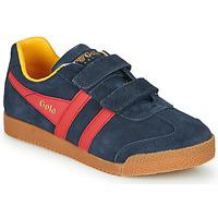 Pantofi Copii Pantofi sport Casual Gola HARRIER VELCRO Albastru / Roșu