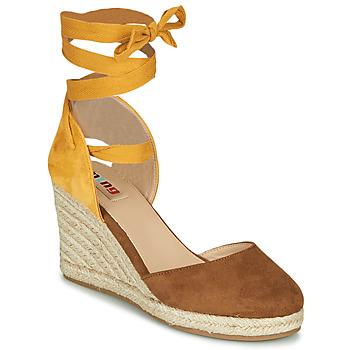 Pantofi Femei Sandale  MTNG GELLO Maro / MuȘtar
