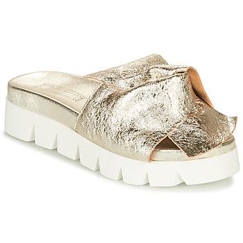 Pantofi Femei Papuci de vară Sweet Lemon LOLAI Auriu