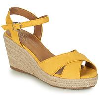 Pantofi Femei Sandale  Tom Tailor 8090105 Galben