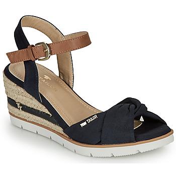Pantofi Femei Sandale  Tom Tailor 8090403 Albastru