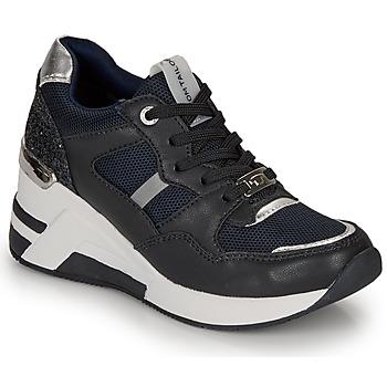 Pantofi Femei Pantofi sport Casual Tom Tailor  Bleumarin / Negru