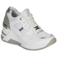 Pantofi Femei Pantofi sport Casual Tom Tailor  Alb / Argintiu