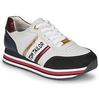 Pantofi Femei Pantofi sport Casual Tom Tailor  Alb / Albastru / Roșu