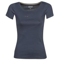 Îmbracaminte Femei Tricouri mânecă scurtă Esprit T-SHIRTS LOGO Bleumarin