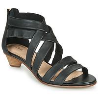 Pantofi Femei Sandale  Clarks MENA SILK Negru