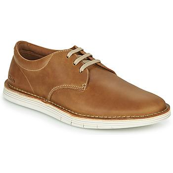 Pantofi Bărbați Pantofi Derby Clarks FORGE VIBE Maro