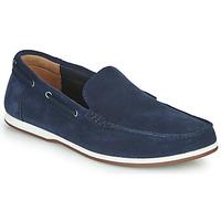 Pantofi Bărbați Pantofi barcă Clarks MORVEN SUN Bleumarin
