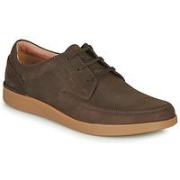 Pantofi Bărbați Pantofi Derby Clarks OAKLAND CRAFT Maro