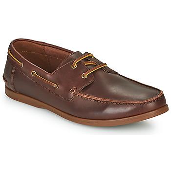 Pantofi Bărbați Pantofi Derby Clarks PICKWELL SAIL Maro