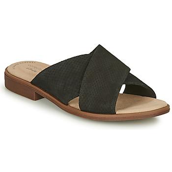 Pantofi Femei Papuci de vară Clarks DECLAN IVY Negru