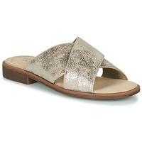 Pantofi Femei Papuci de vară Clarks DECLAN IVY Argintiu