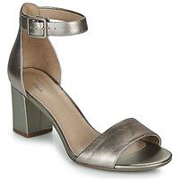 Pantofi Femei Sandale  Clarks DEVA MAE Argintiu