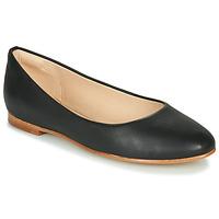 Pantofi Femei Balerin și Balerini cu curea Clarks GRACE PIPER Negru
