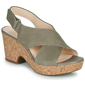 Pantofi Femei Sandale  Clarks MARITSA LARA Taupe