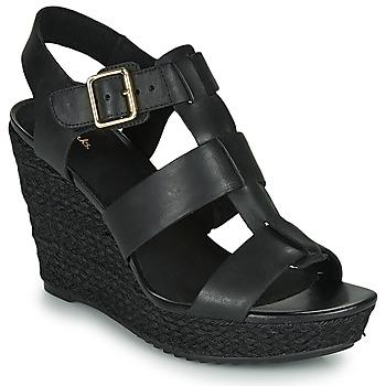 Pantofi Femei Sandale  Clarks MARITSA95 GLAD Negru