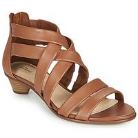 Pantofi Femei Sandale  Clarks MENA SILK Camel