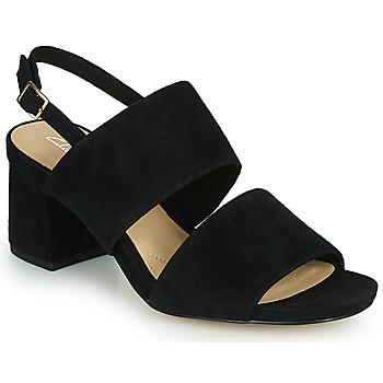 Pantofi Femei Sandale  Clarks SHEER55 SLING Negru
