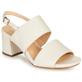 Pantofi Femei Sandale  Clarks SHEER55 SLING Alb