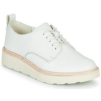 Pantofi Femei Pantofi Derby Clarks TRACE WALK Alb