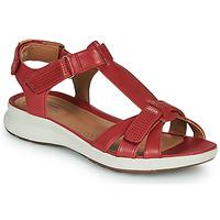 Pantofi Femei Sandale  Clarks UN ADORN VIBE Roșu