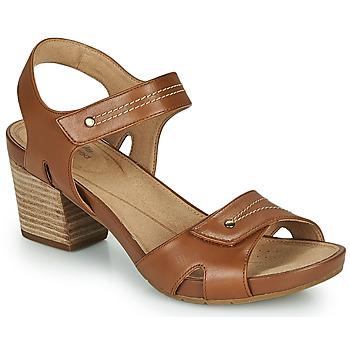 Pantofi Femei Sandale  Clarks UN PALMA VIBE Camel