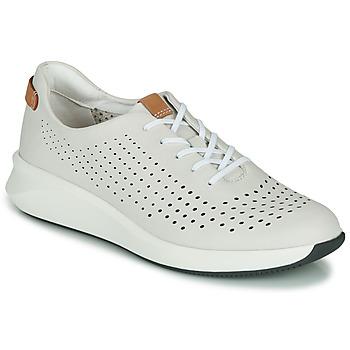 Pantofi Femei Pantofi sport Casual Clarks UN RIO TIE Alb