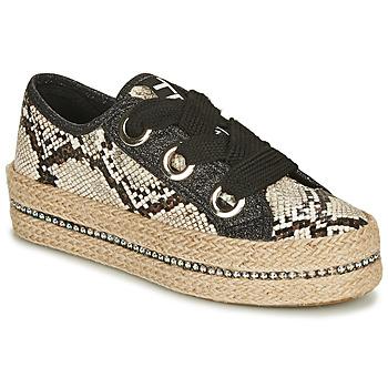 Pantofi Femei Espadrile Tosca Blu TAHITI Negru / Piton