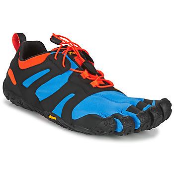 Pantofi Bărbați Trail și running Vibram Fivefingers V-TRAIL 2.0 Albastru / Portocaliu