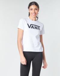 Îmbracaminte Femei Tricouri cu mânecă lungă  Vans FLYING V CREW TEE Alb