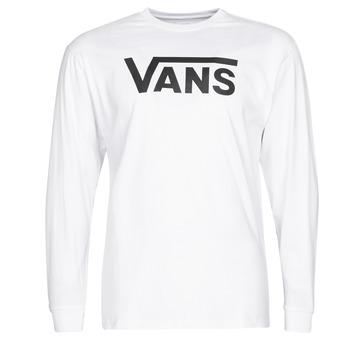 Îmbracaminte Bărbați Tricouri cu mânecă lungă  Vans VANS CLASSIC Alb