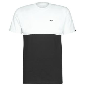 Îmbracaminte Bărbați Tricouri mânecă scurtă Vans COLORBLOCK TEE Negru / Alb