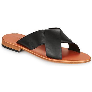Pantofi Femei Papuci de vară Dream in Green MARNO Negru