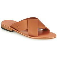 Pantofi Femei Papuci de vară Dream in Green MARNITO Camel