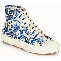 Pantofi Femei Pantofi sport stil gheata Superga 2295-COTFANW Bej / Albastru