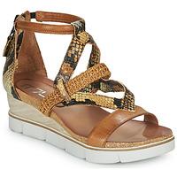 Pantofi Femei Sandale  Mjus TAPASITA Maro / Piton