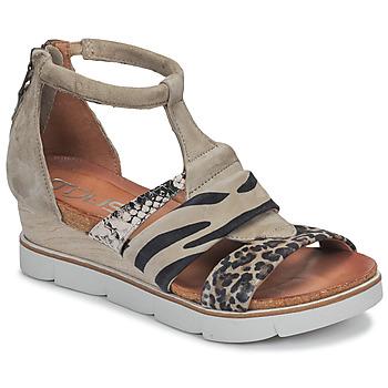 Pantofi Femei Sandale  Mjus TAPASITA Taupe / Leopard