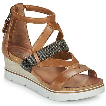 Pantofi Femei Sandale și Sandale cu talpă  joasă Mjus TAPASITA Camel