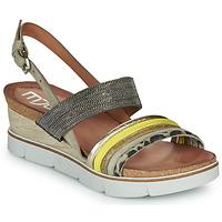 Pantofi Femei Sandale și Sandale cu talpă  joasă Mjus TAPASITA Taupe