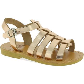 Pantofi Fete Sandale  Attica Sandals PERSEPHONE CALF GOLD-PINK oro