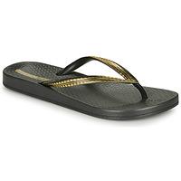 Pantofi Femei  Flip-Flops Ipanema MESH IV Negru / Auriu