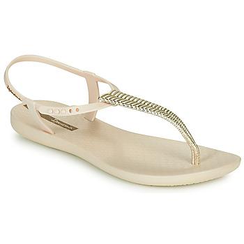 Pantofi Femei Sandale  Ipanema CLASS GLAM III Bej / Auriu