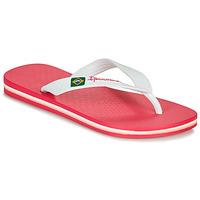 Pantofi Fete  Flip-Flops Ipanema CLAS BRASIL II Roz / Alb