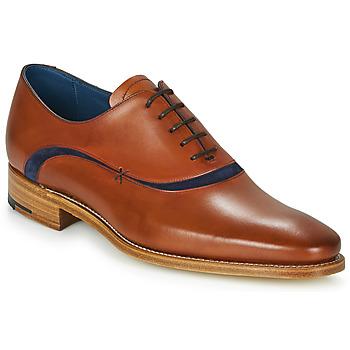 Pantofi Bărbați Pantofi Oxford Barker EMERSON Maro / Albastru
