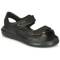 Pantofi Copii Sandale  Crocs SWIFTWATER EXPEDITION SANDAL Black