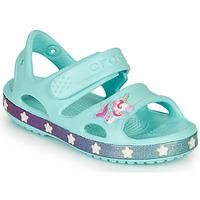Pantofi Fete Sandale  Crocs FUNLAB UNICORN SANDAL Blue