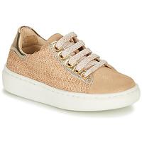 Pantofi Fete Pantofi sport Casual Shoo Pom FLASH ZIP LACE Bej
