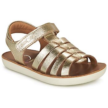 Pantofi Fete Sandale  Shoo Pom GOA SPART Auriu